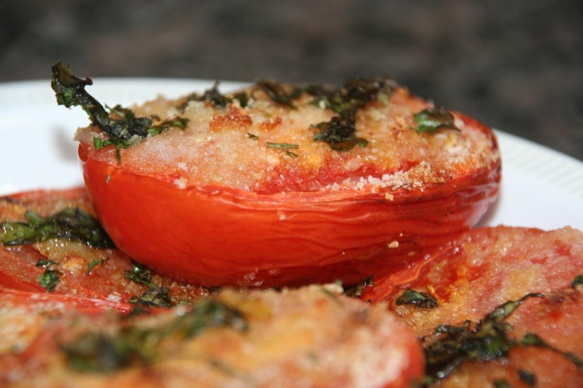 Roasted Plum Tomatoes