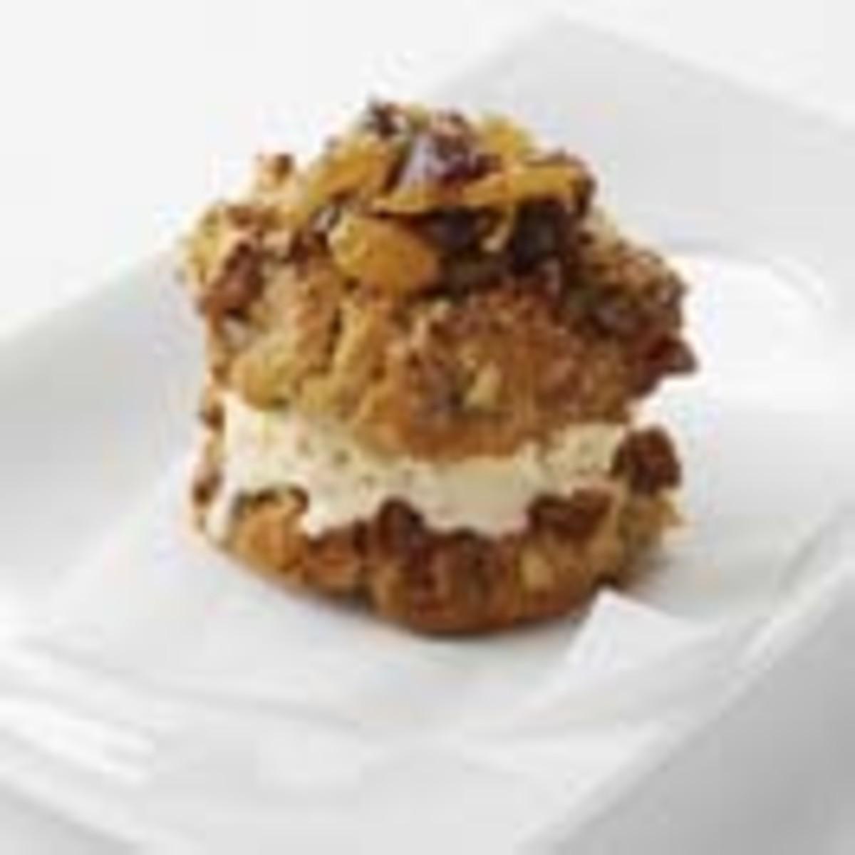 Pecan Thumbprint Cookies with California Golden Raisin-Dried Cherry Marmalade