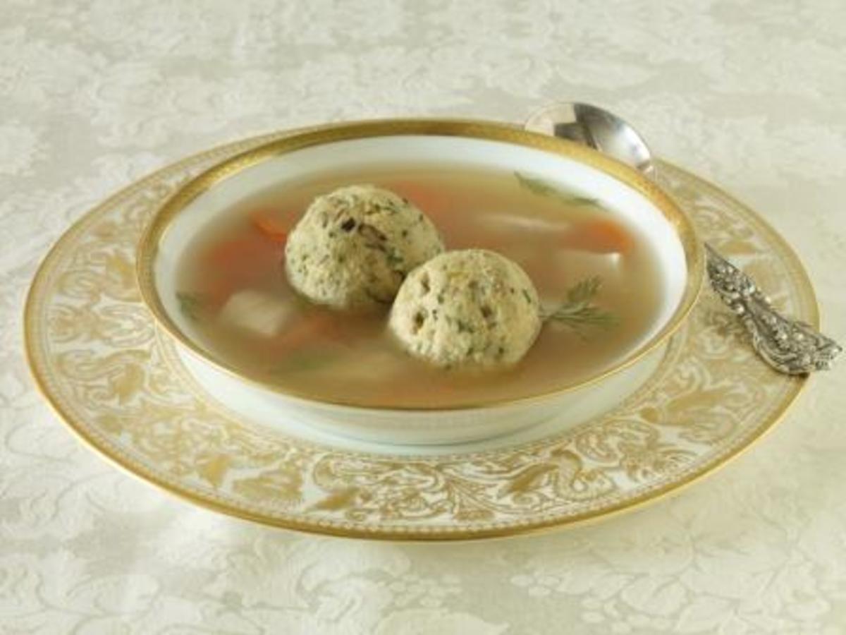 Matzah Soup