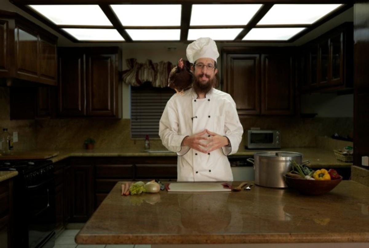 mendy pellin in the kitchen