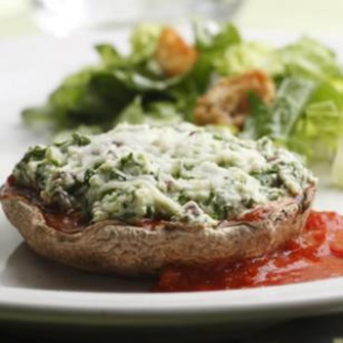 cheese-and-spinach-stuffed-portobellos