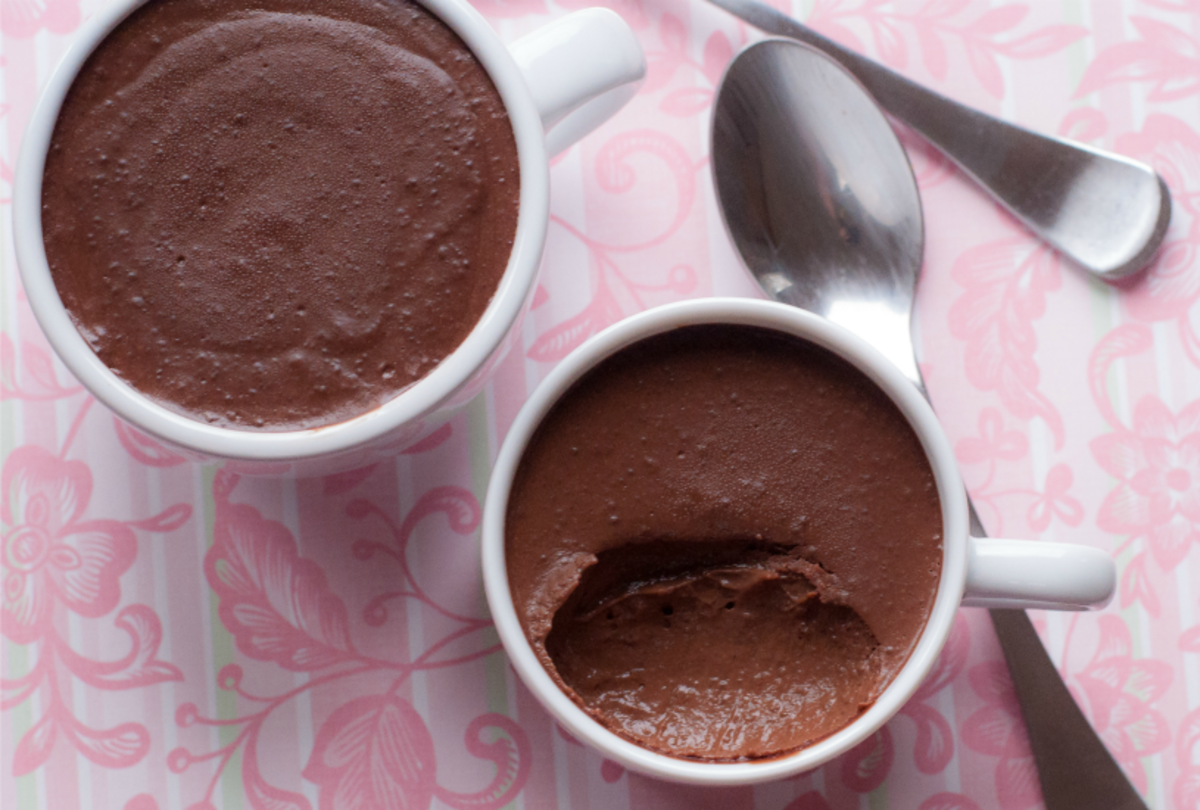 Chocolate Almond Pot Au Creme