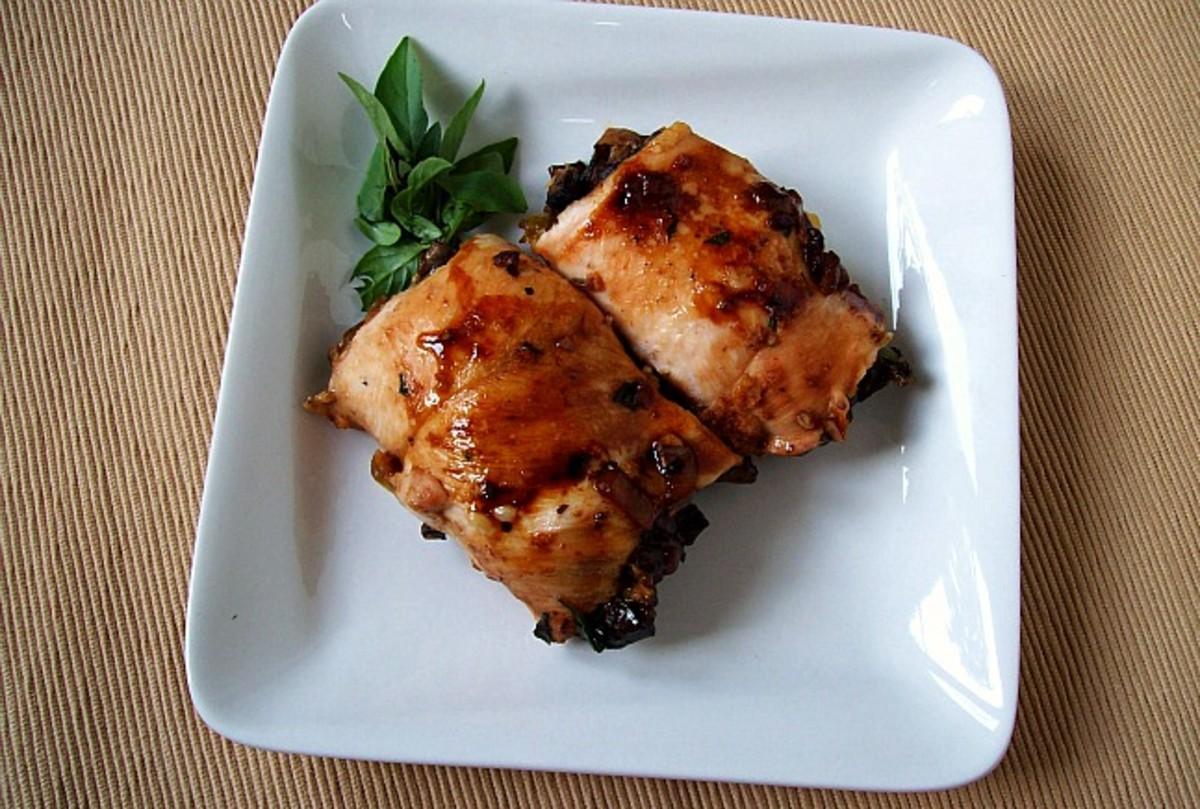 Mushroom-Stuffed-Chicken