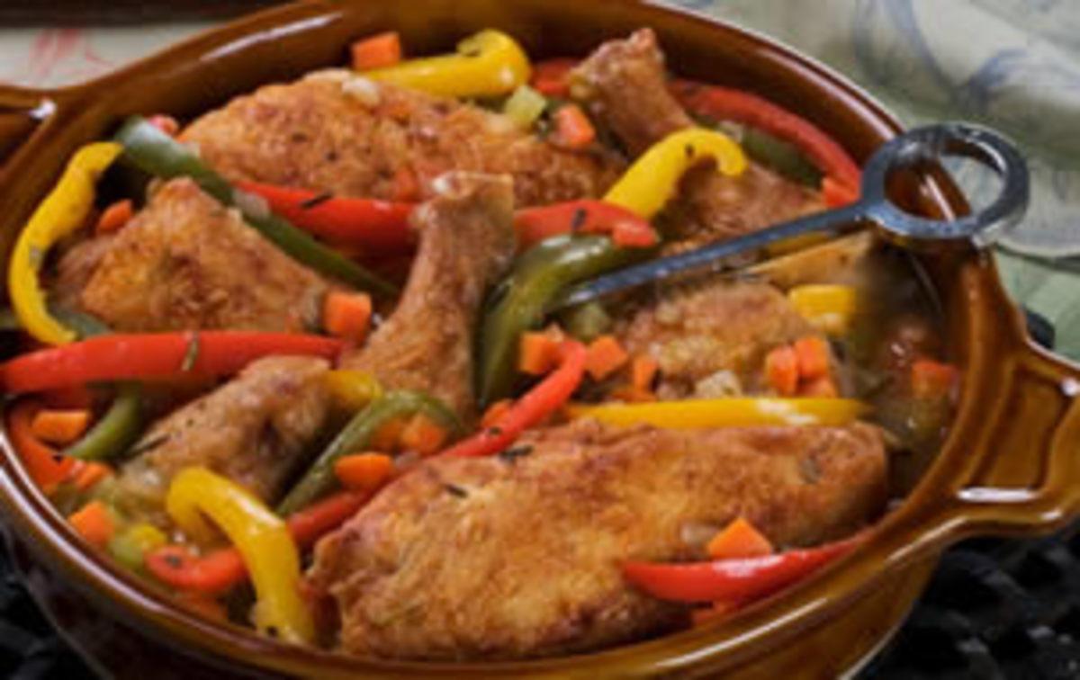 Chicken Agrodolce