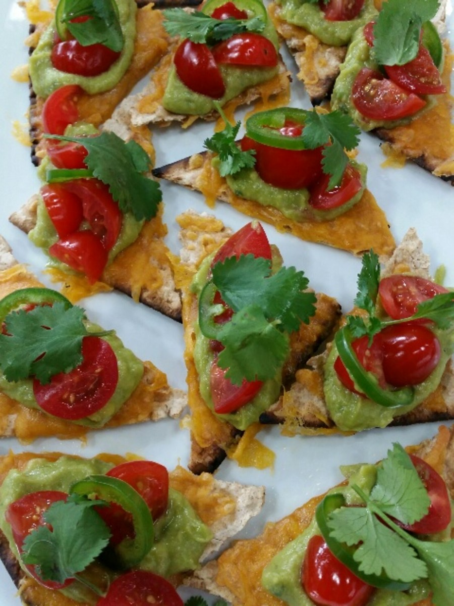 Matzo Nachos as seen on the Today Show with Jamie Geller as a new fun Passover recipe.