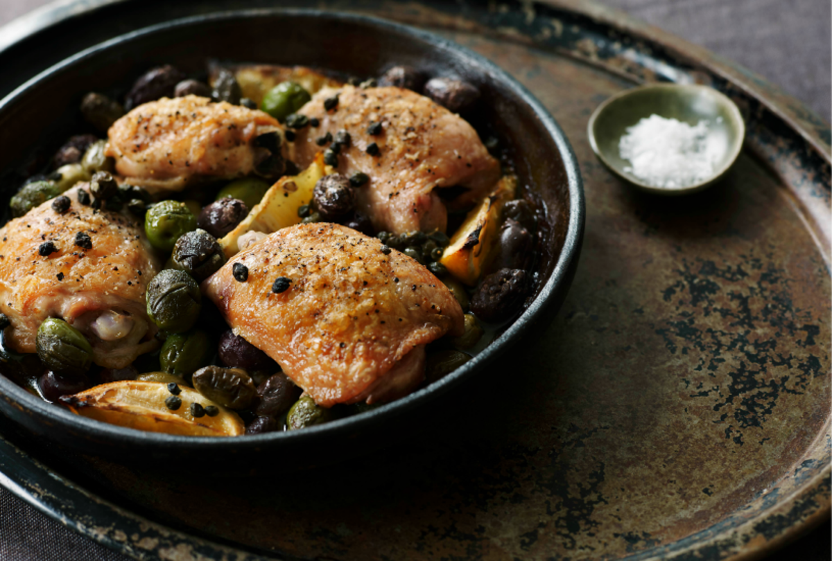 Sweet Paul - Chicken with Olives & Capers