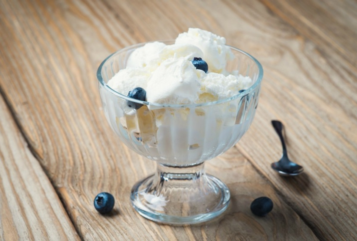 Semi-Homemade Greek Frozen Yogurt