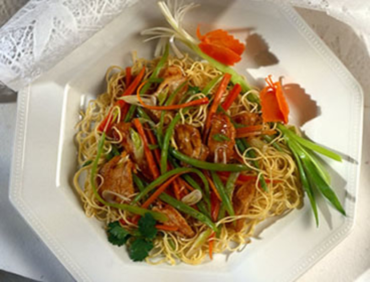 Shanghai Turkey Stir-Fry
