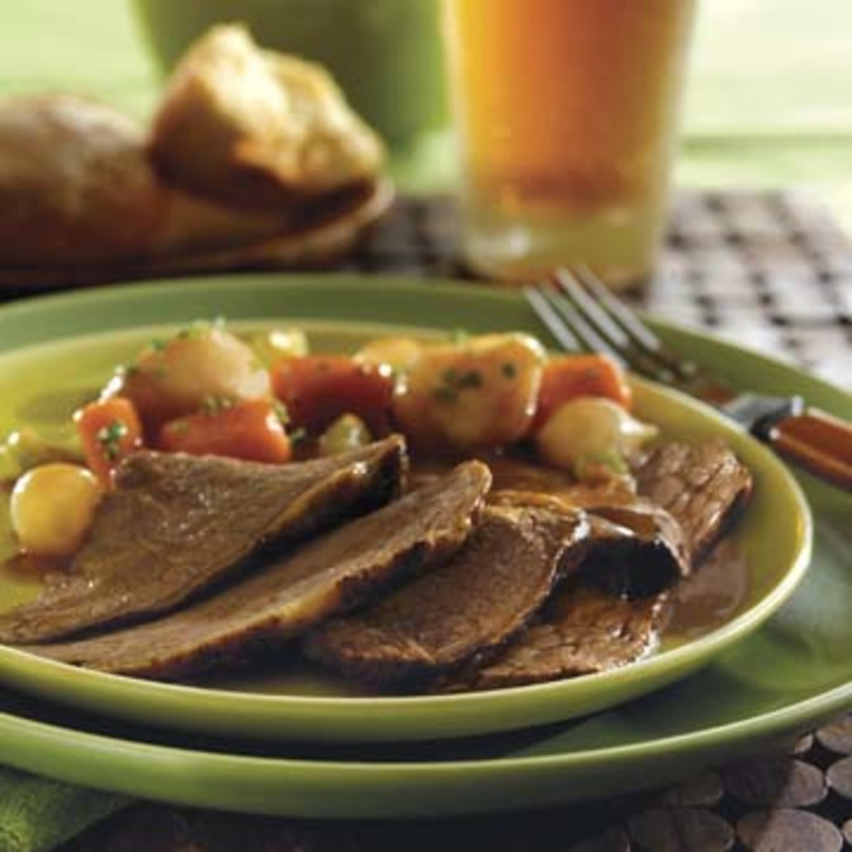 Irish-Inspired Beef Pot Roast and Vegetables