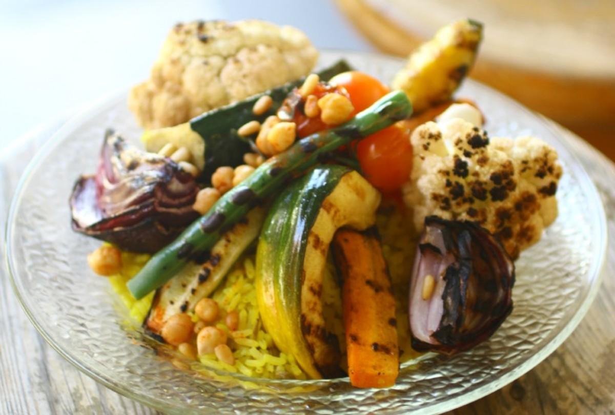 vegetarian Mujadara