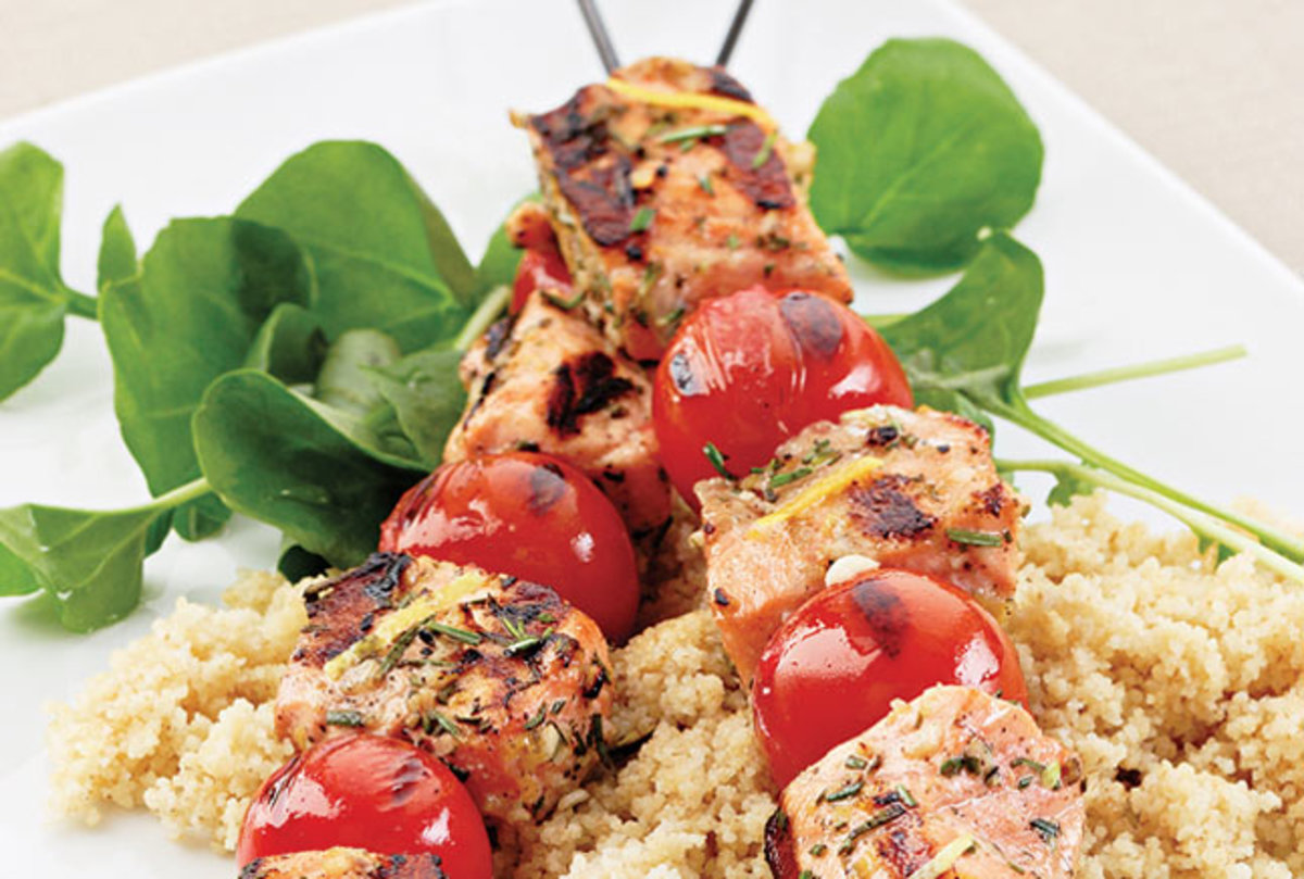 grilled-salmon-skewers