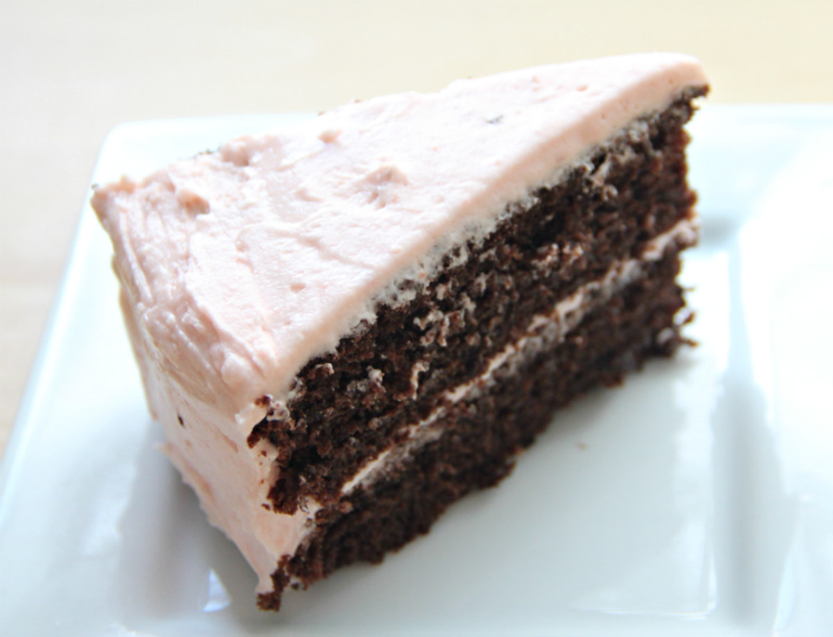 Secret-ingredient Chocolate Cake