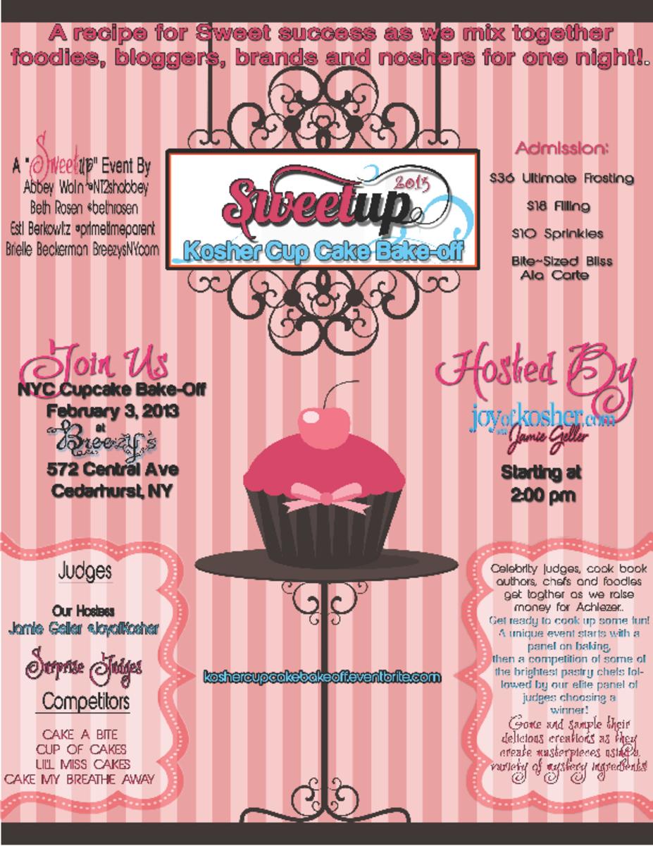 sweet up cupcake bakeoff