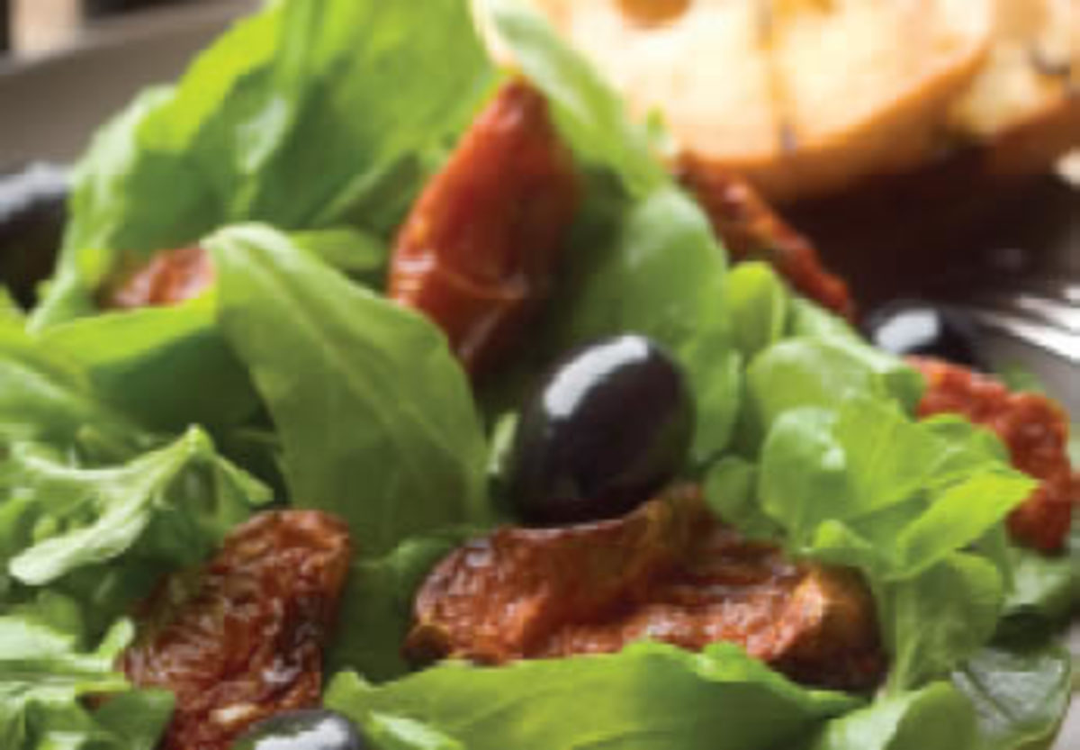 Oven Dried Tomato Salad