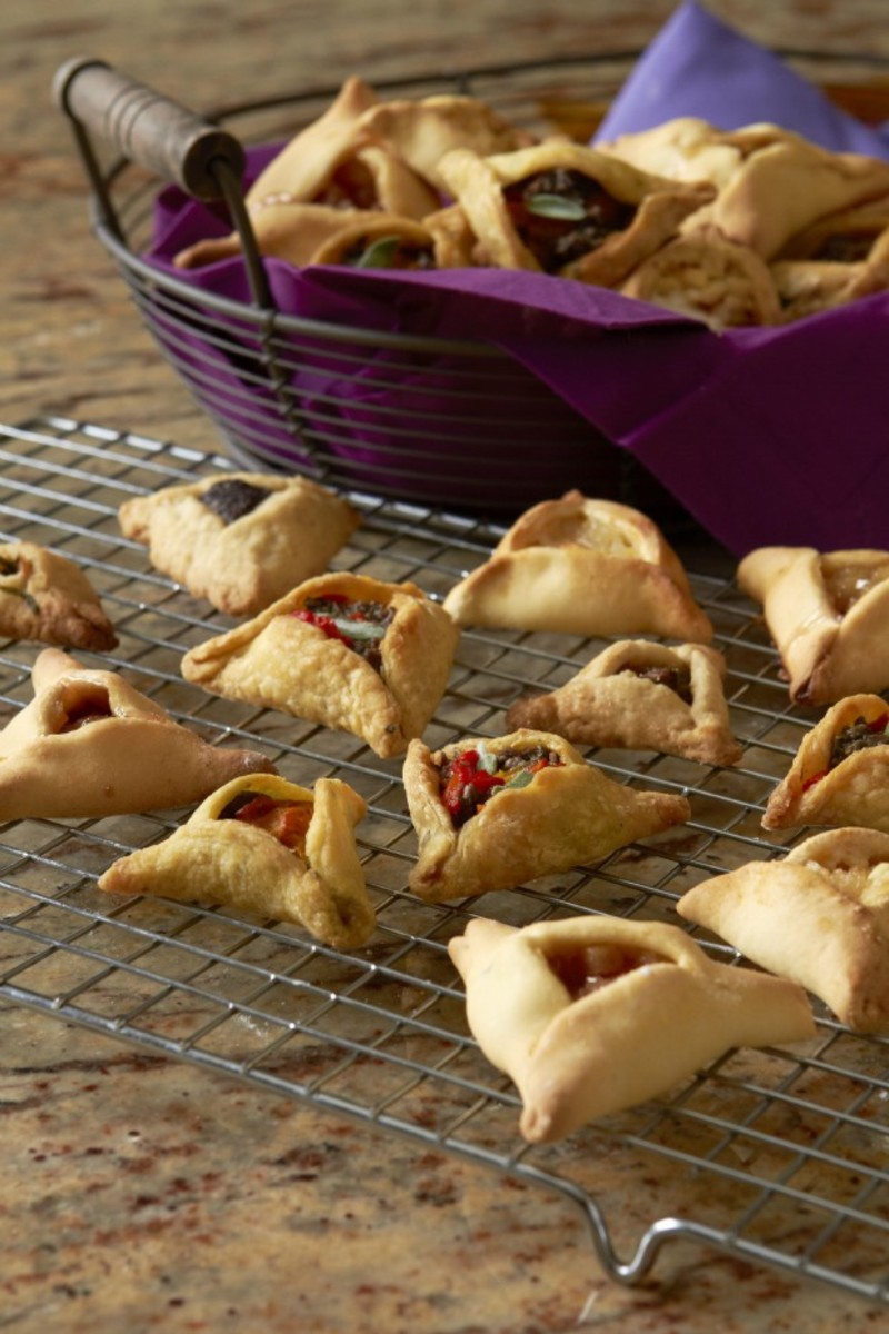 Cream Cheese Hamantashen