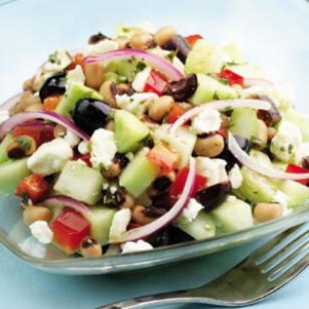 Cucumber-And-Black-Eyed-Pea-Salad