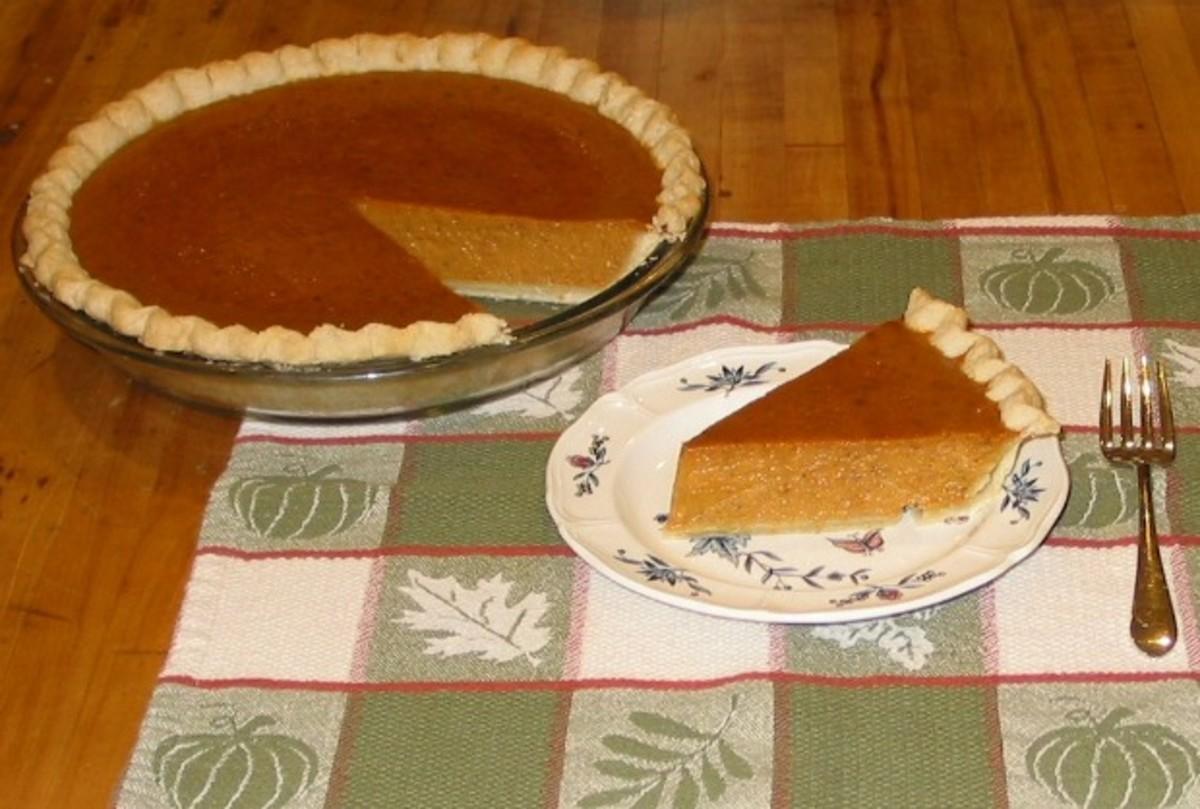 Parve Pumpkin Pie