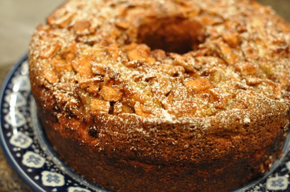 Log Cake Recipe Joy Of Baking: Jewish Apple Cake