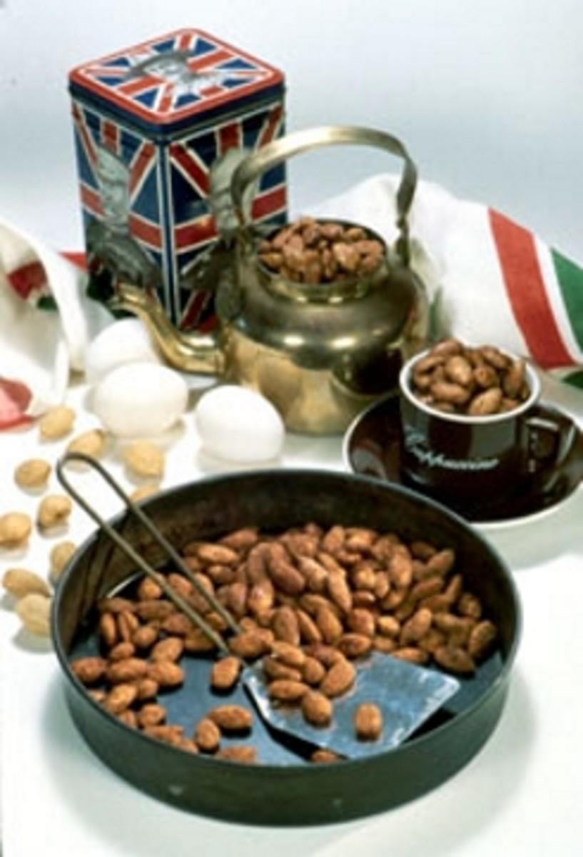 English Tea Almonds