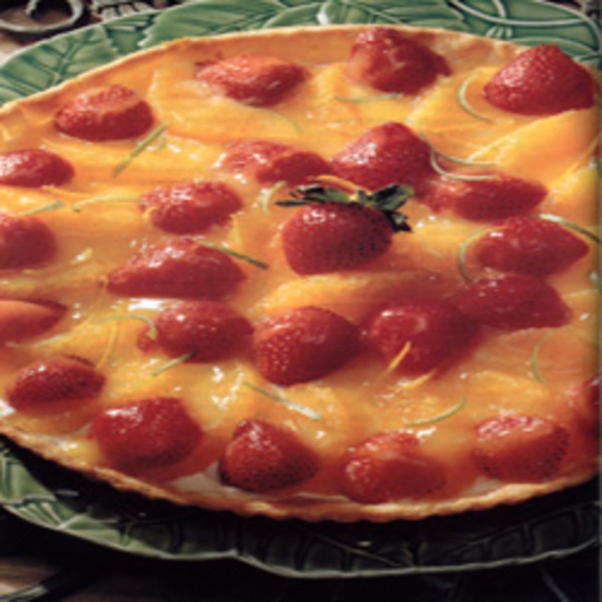 Orange-Berry Tart