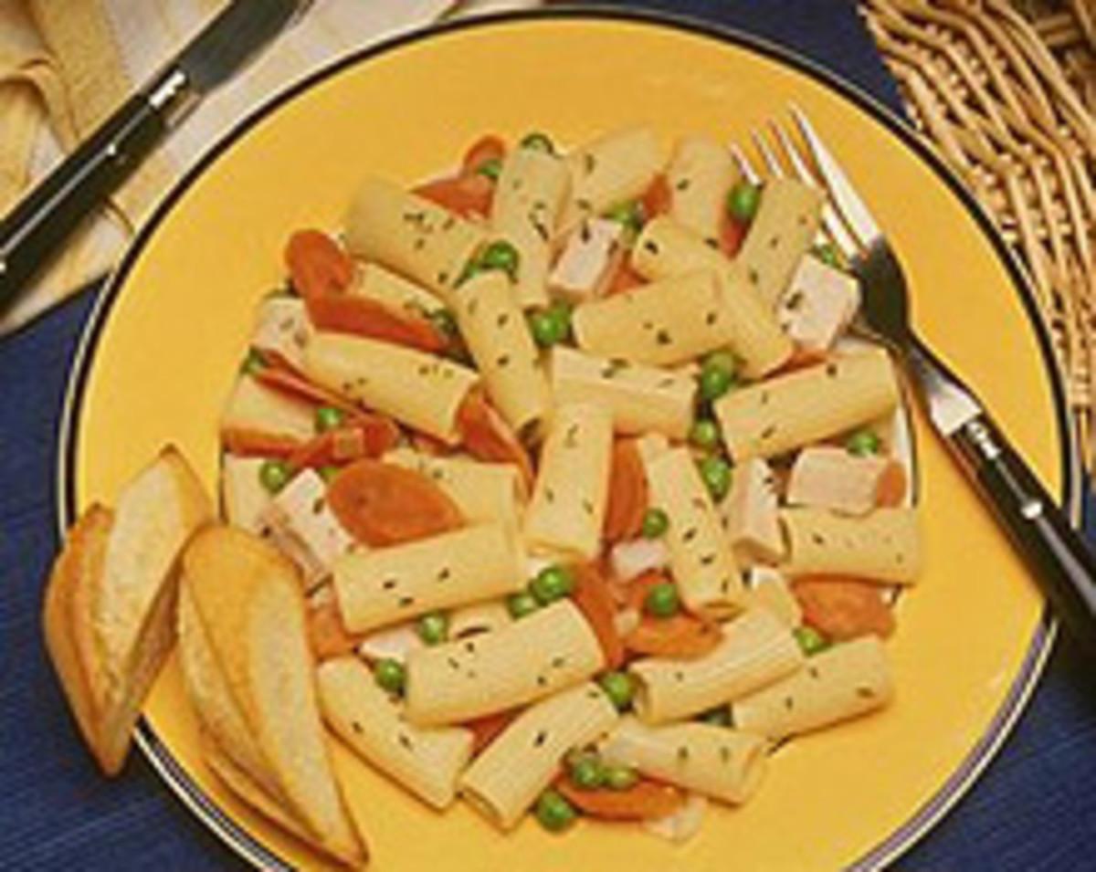Rigatoni-Turkey Salad