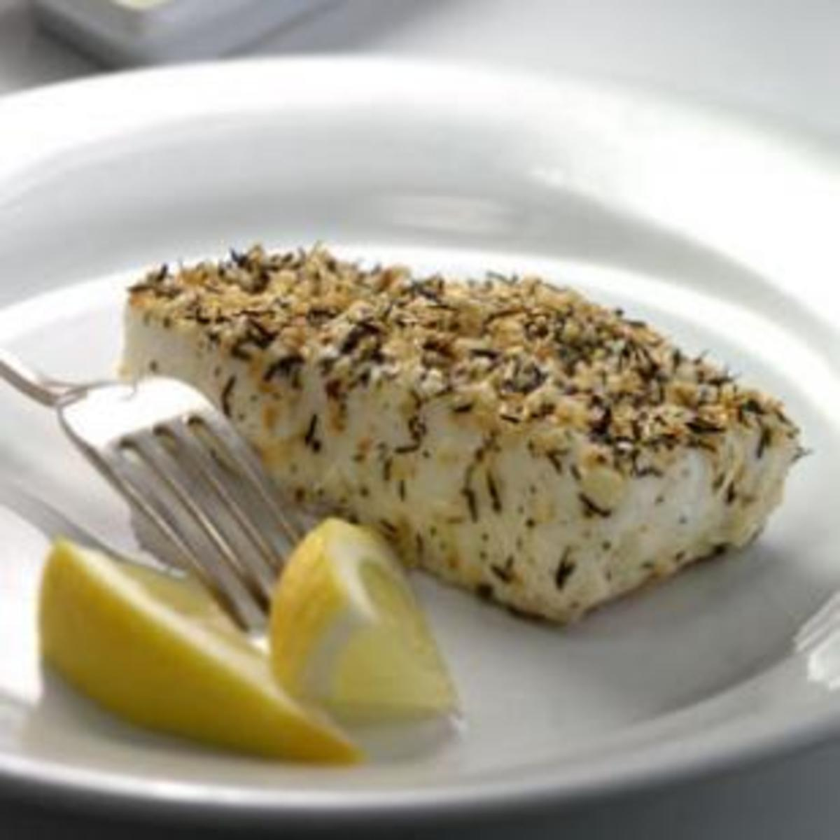thyme-and-sesame-crusted-halibut