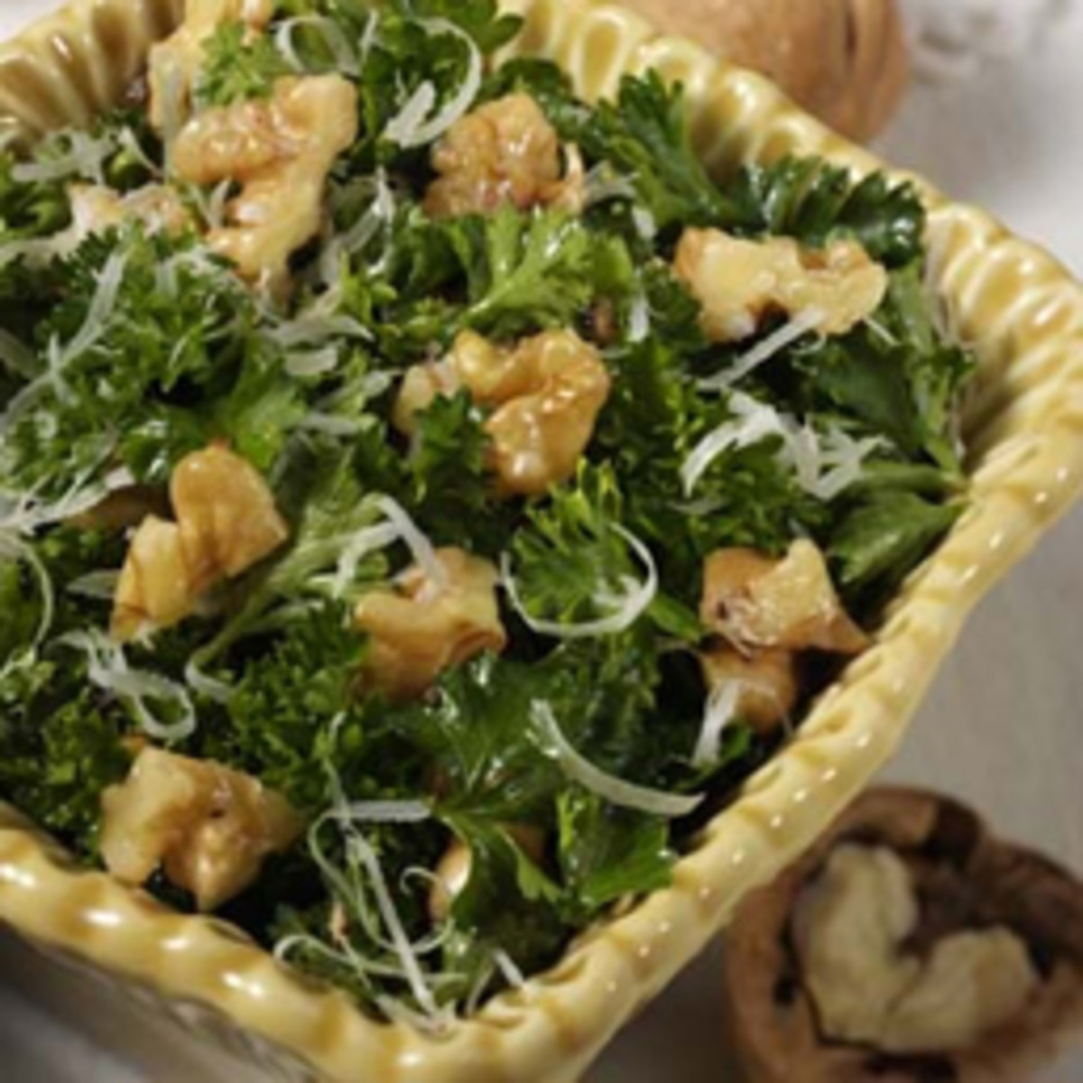 Marion Cunningham's Parsley Walnut Salad