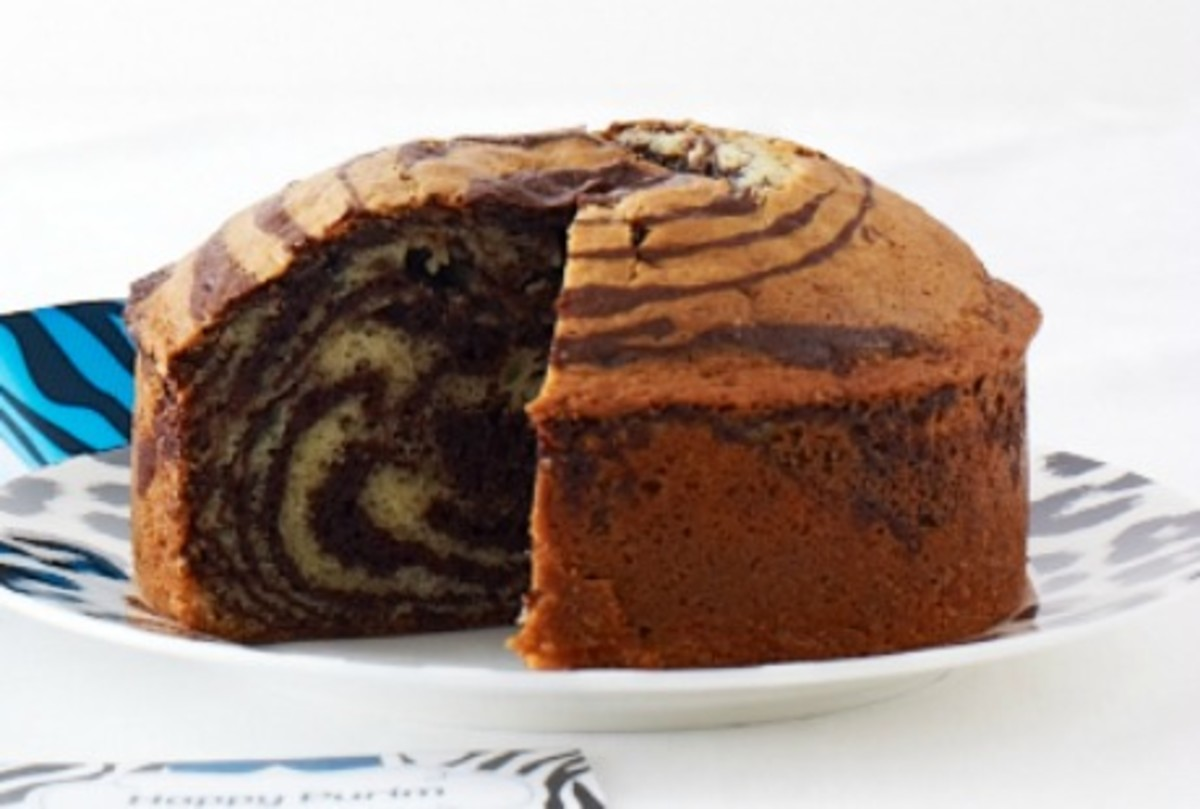 Mini Zebra Cakes