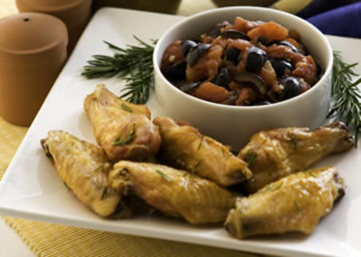Rosemary Chicken Wings