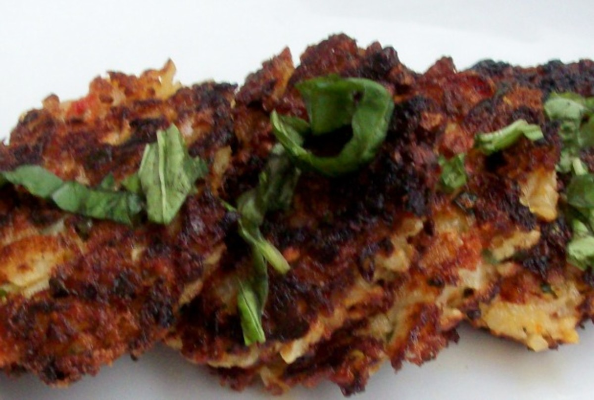 Potato-Onion Latke