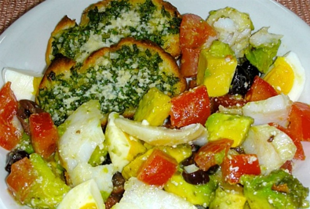 halibut-salad