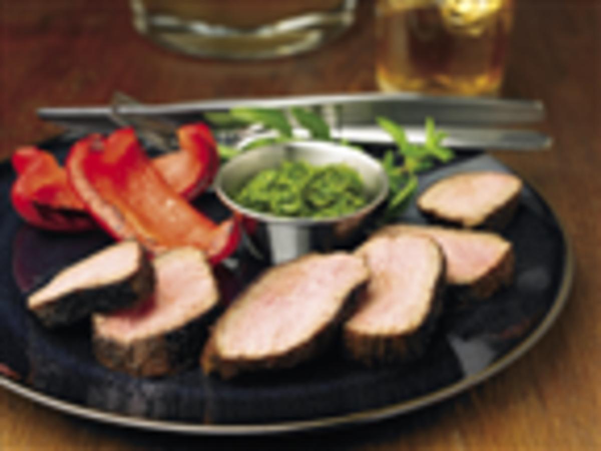 Chipotle Beef & Chimichurri Sauce