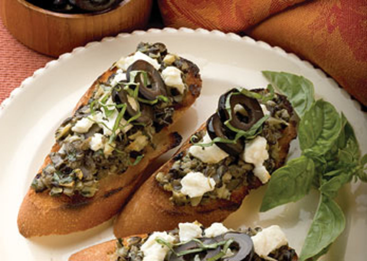 California Tapenade Toast