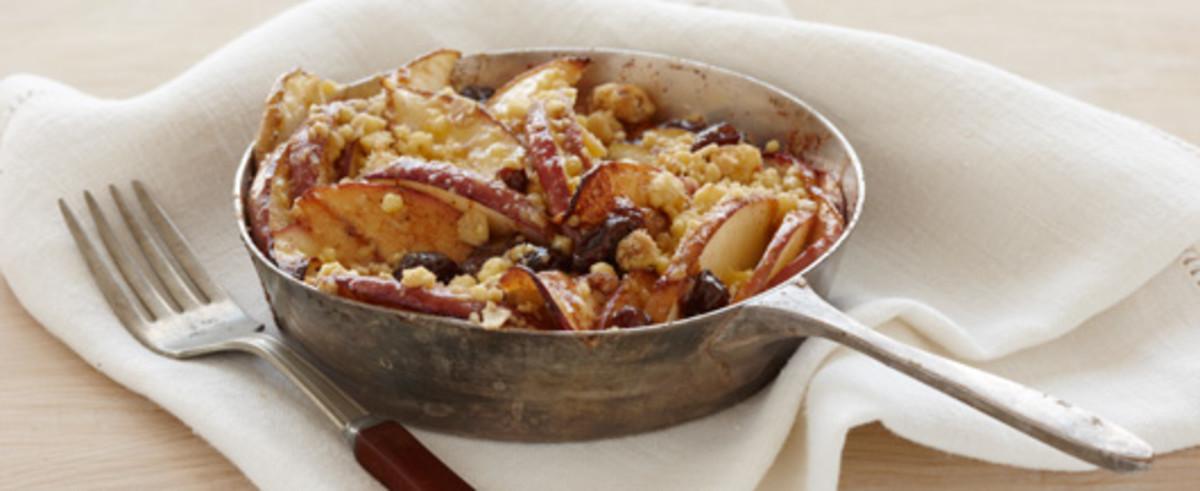 Deep Dish Apple cobbler