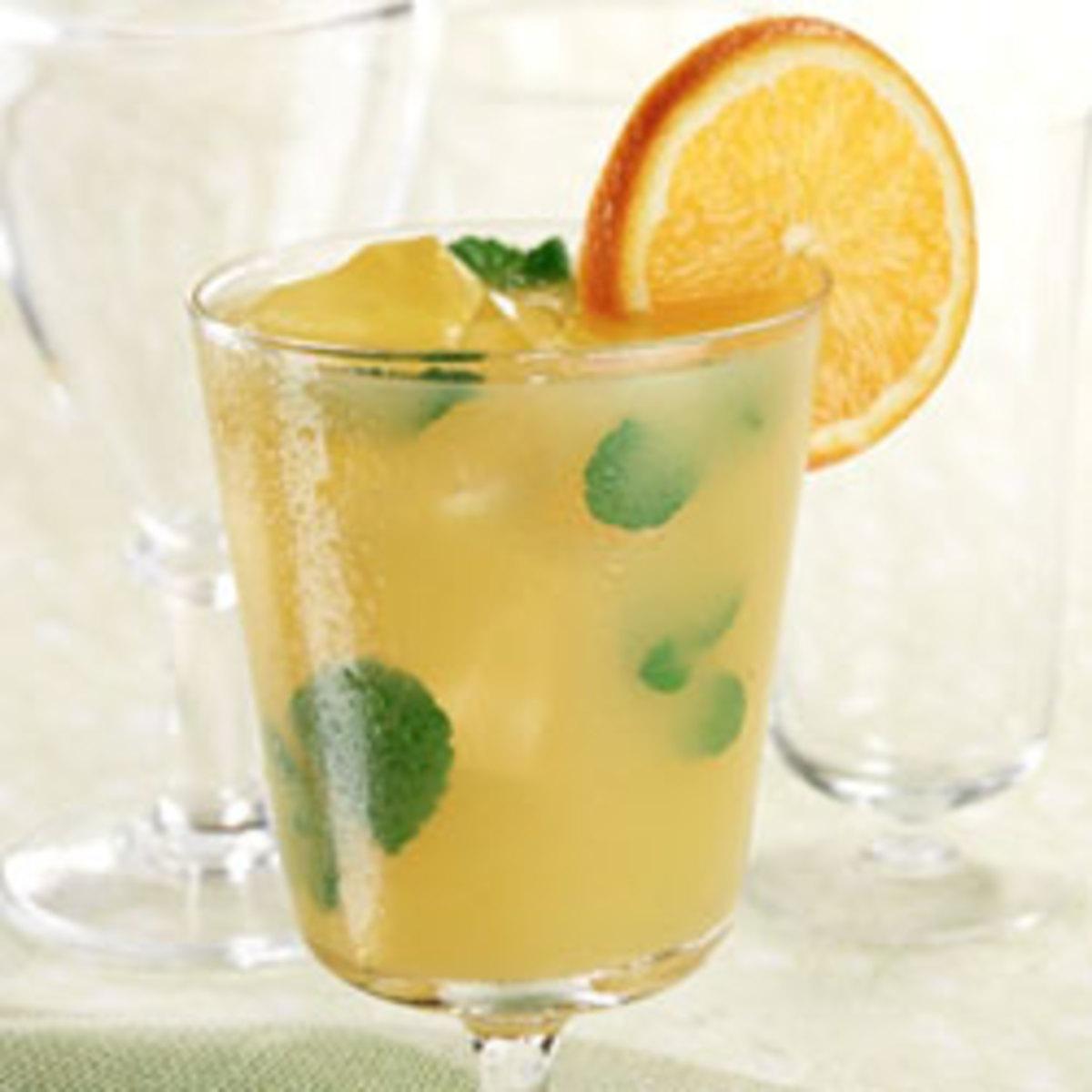 Mint Orange Agave Cooler