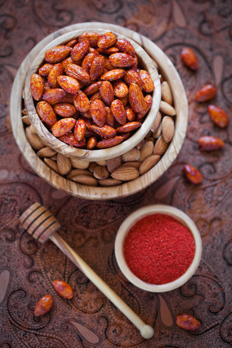 honey almonds