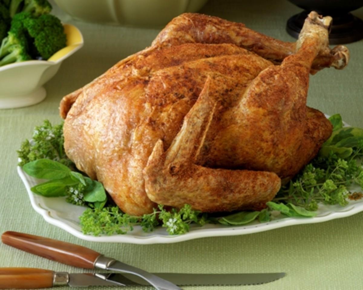 Asian style turkey