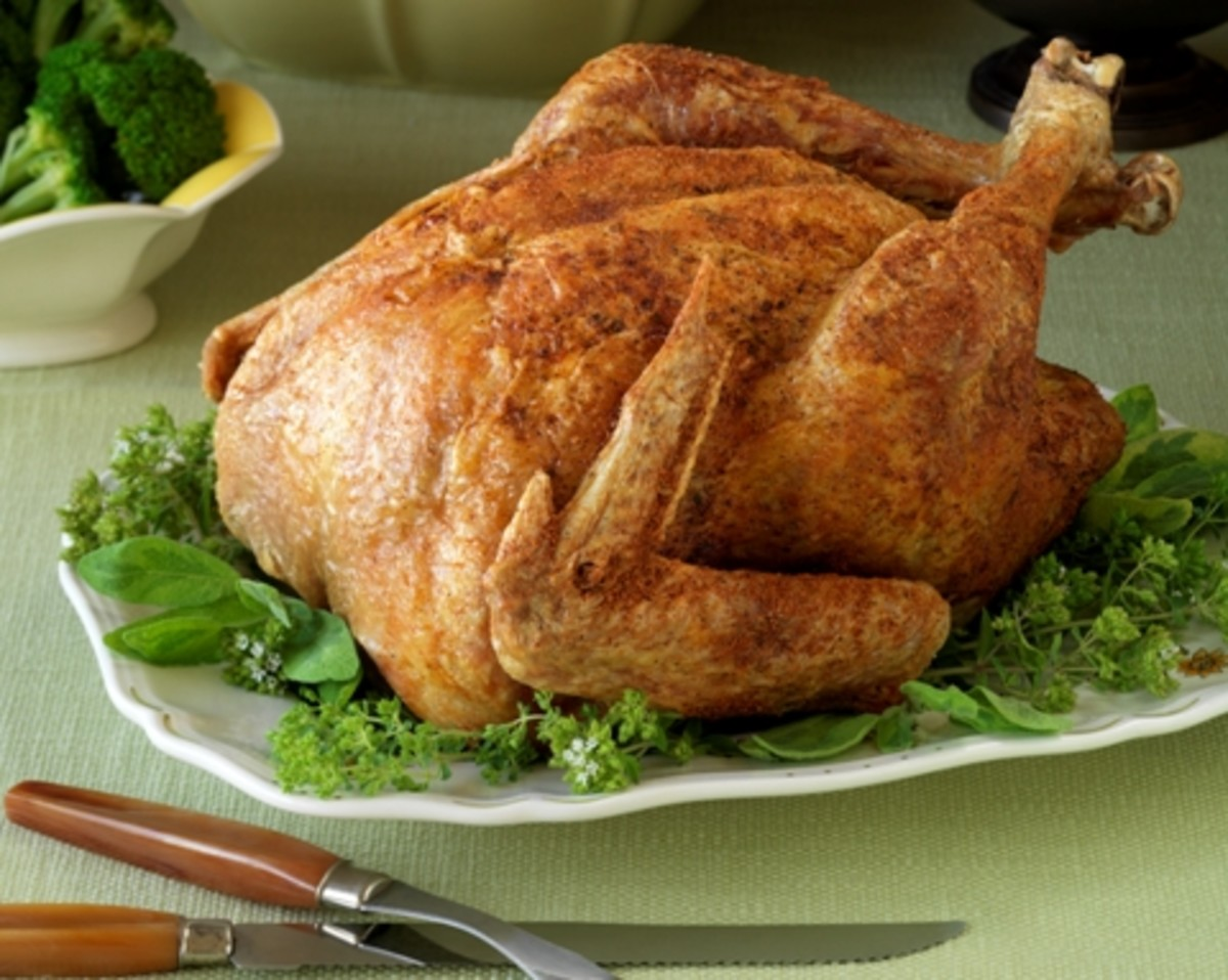 Asian Style Deep-Fried Turkey