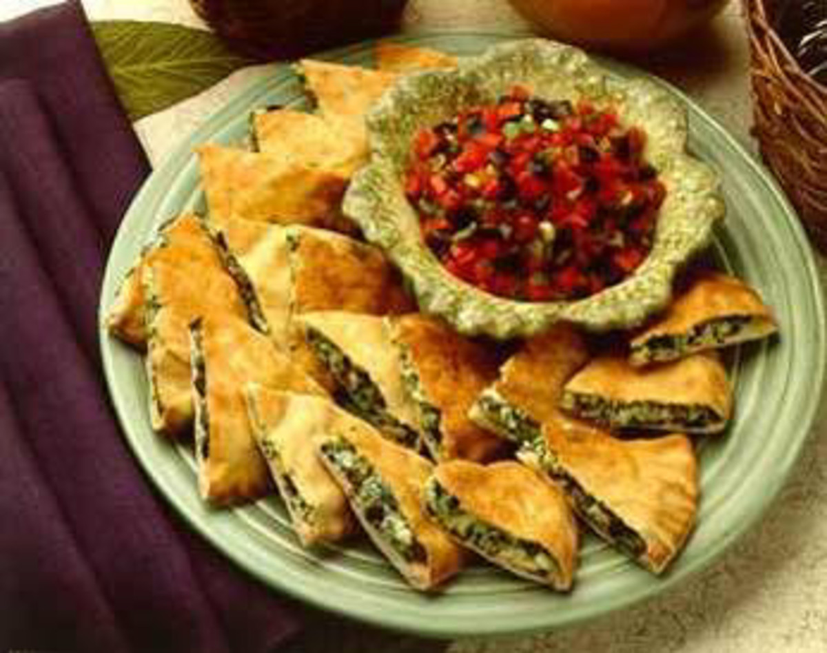 Olive and Goat Cheese Quesadillas