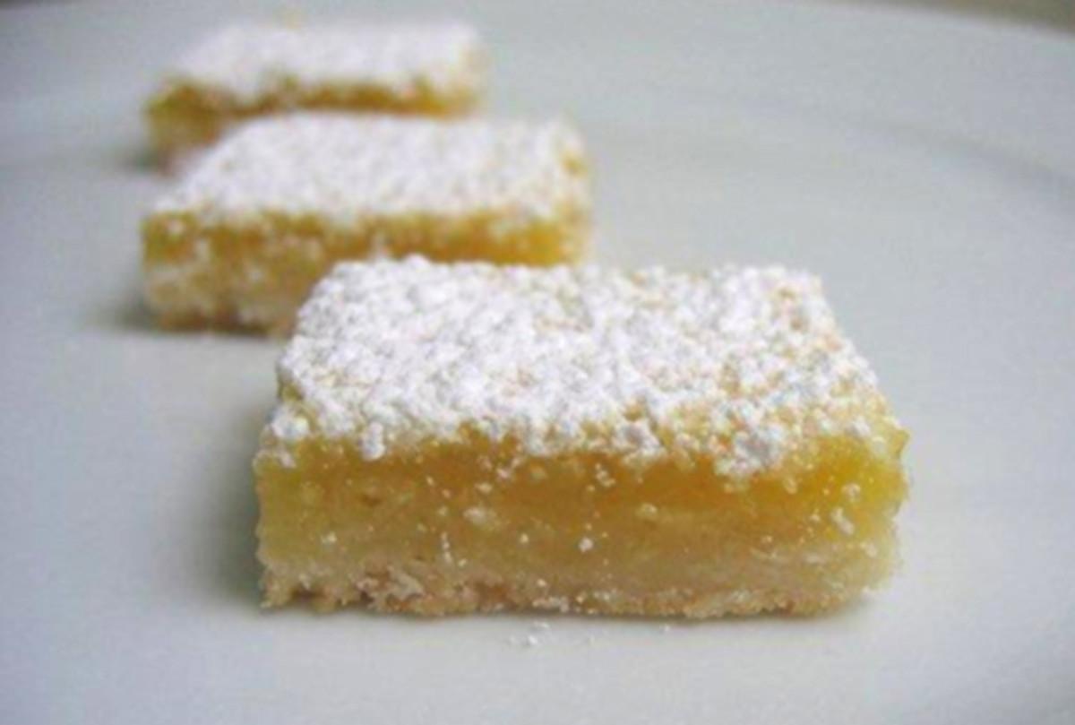 Gourmet Kosher Cooking- Passover Lemon Bars