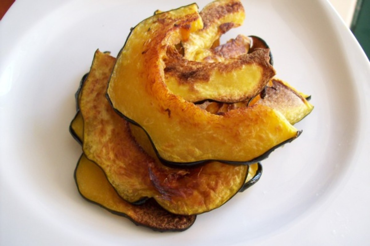 acorn squash chips