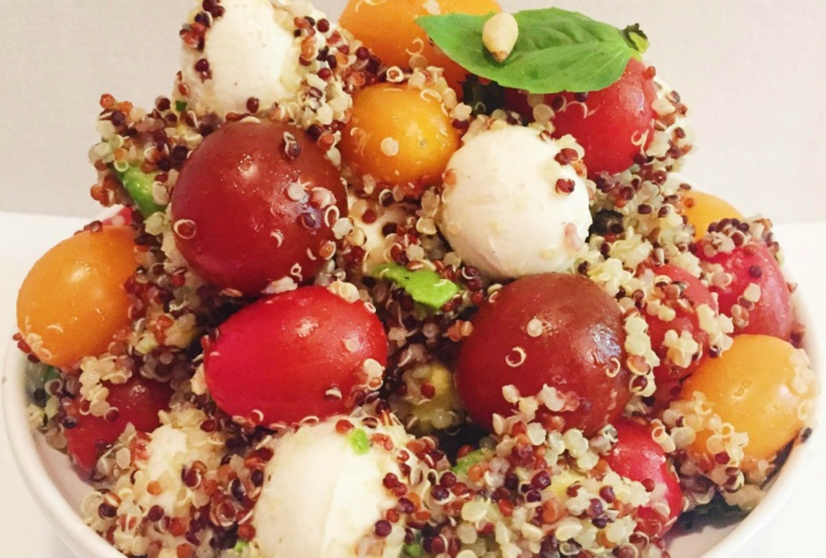 Refreshing Quinoa Salad