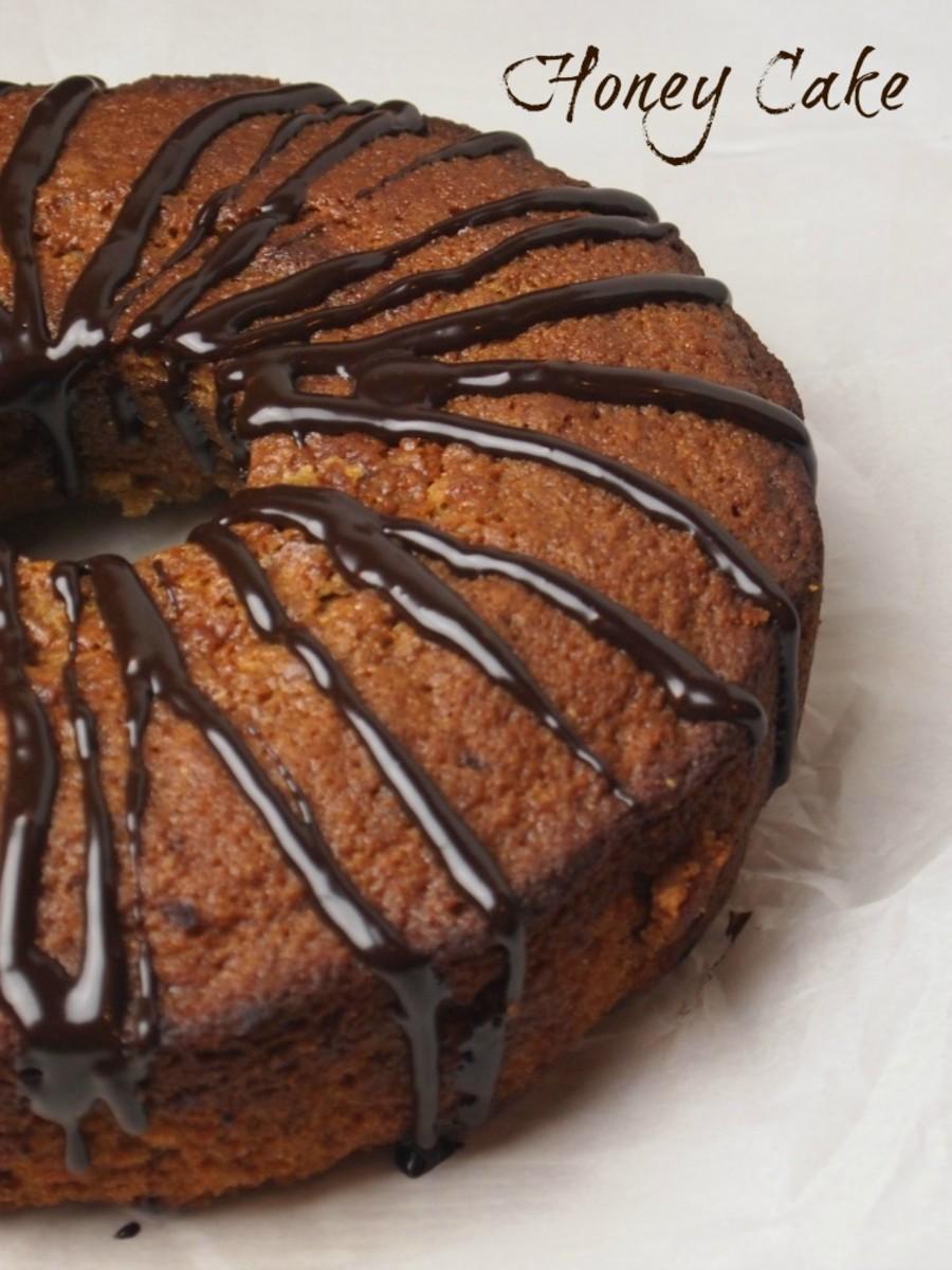 buckwheat honey cake