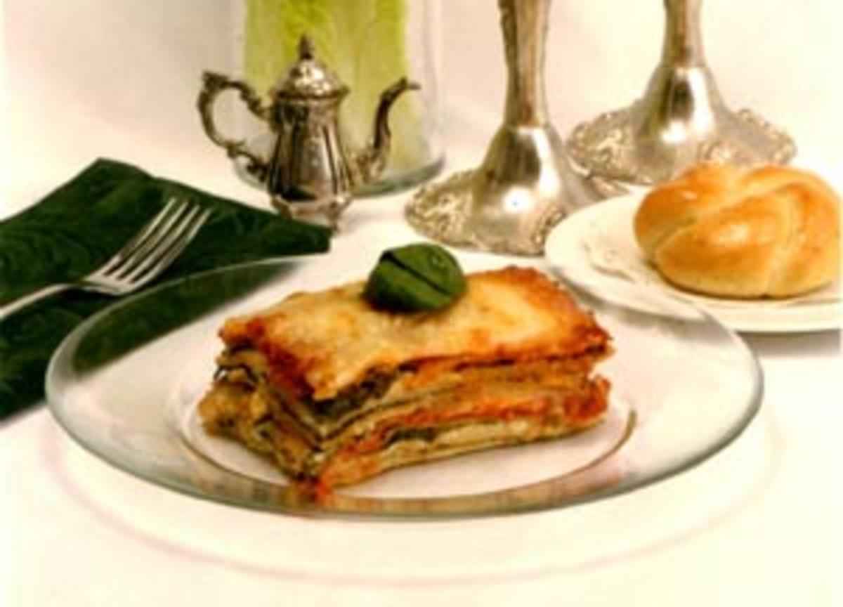 Whole Wheat Spinach Lasagna