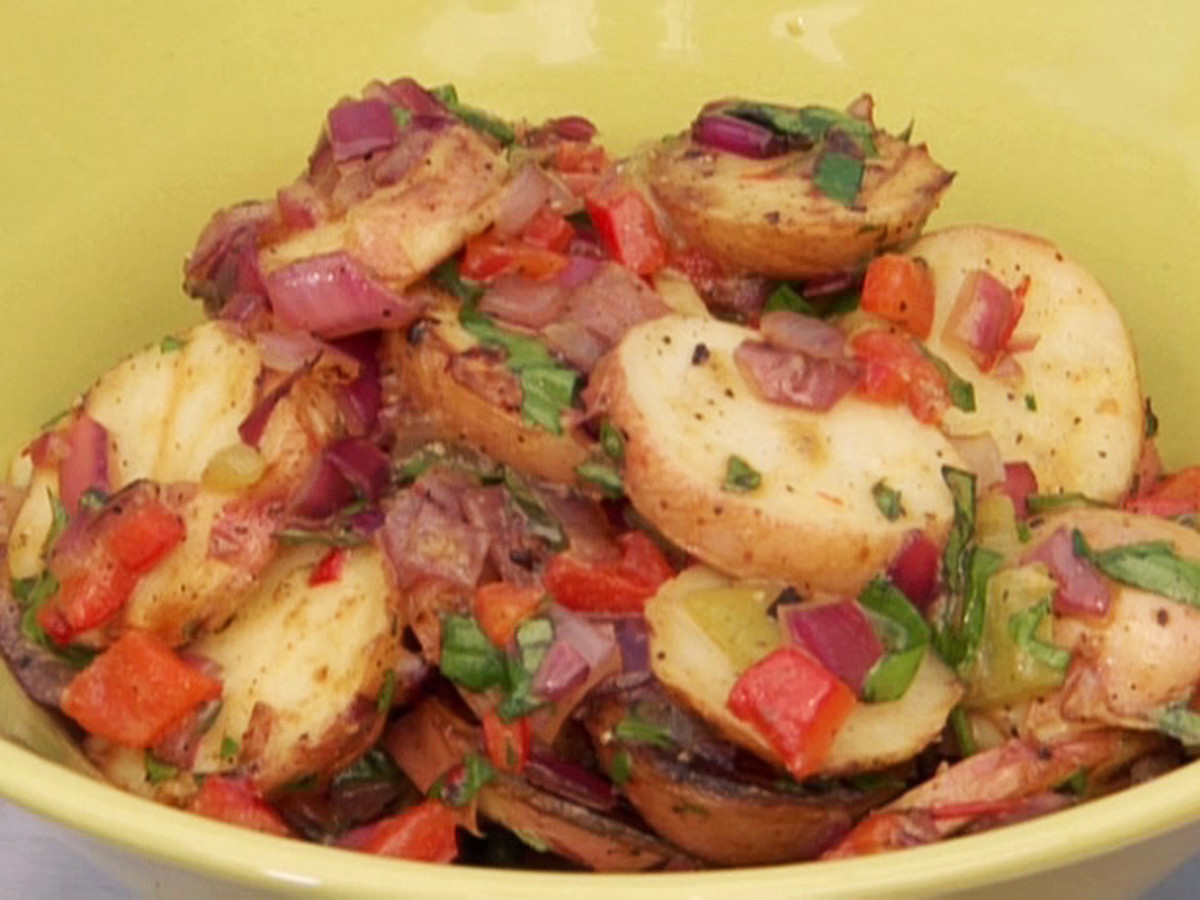 Idaho® Potato Salad with Peppers & Onions