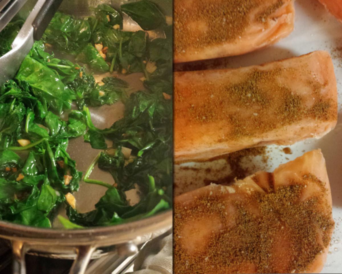 Week 3 Salmon process