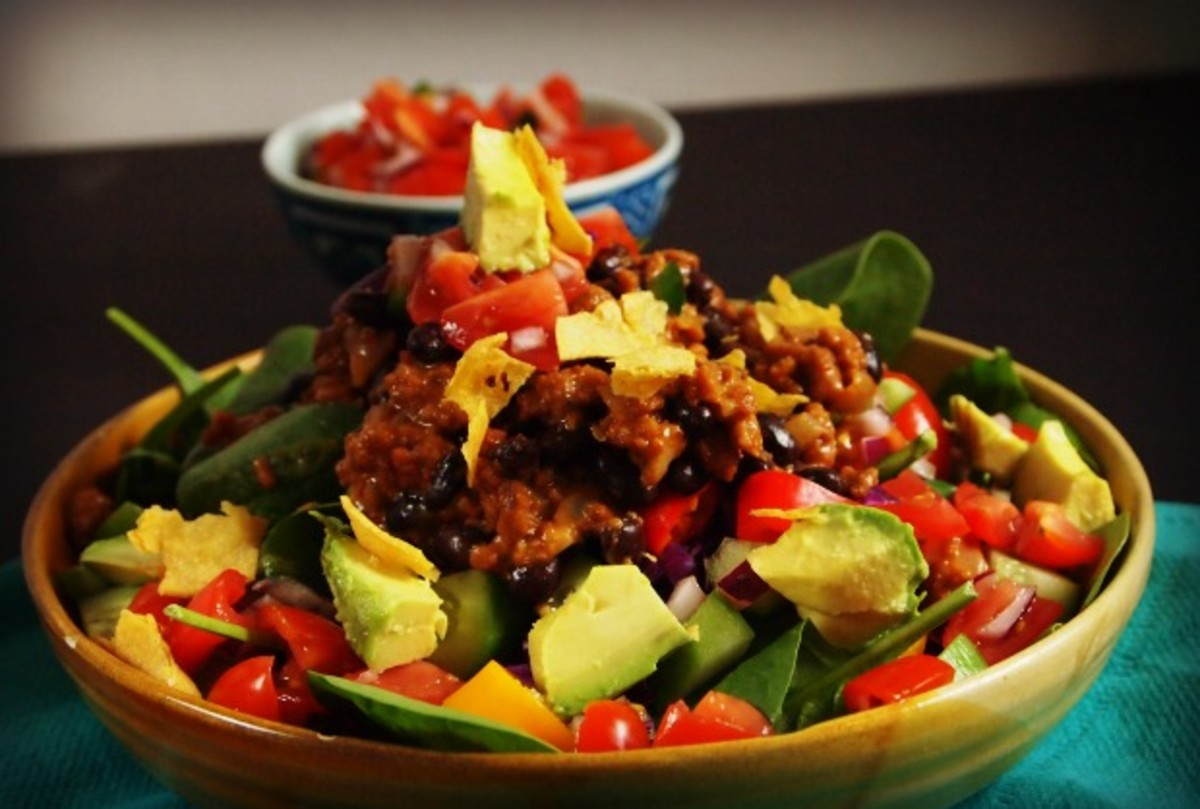 vegetarian-taco-salad