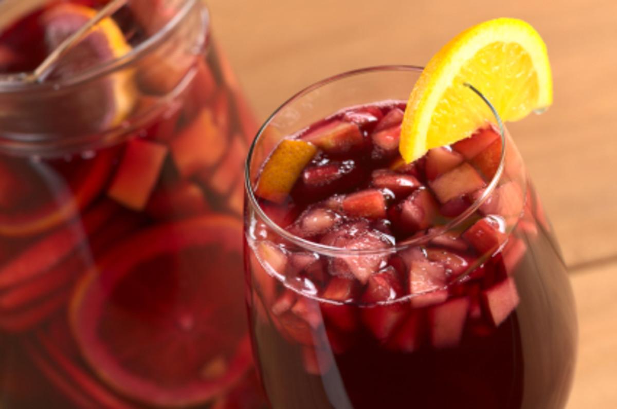 Refreshing Pomegranate Sangria