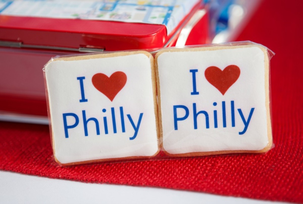 i love philly cookies
