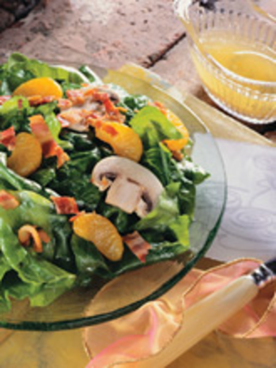 Warm Orange Soybean Oil Vinaigrette